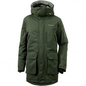 Mens Trew Jacket Field Green