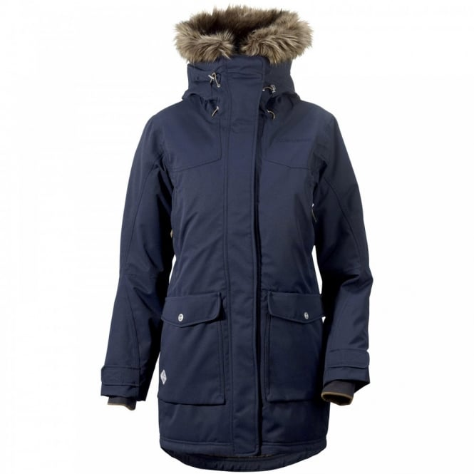 Didriksons Shelter W Parka Navy