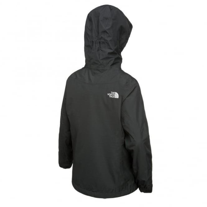 1028d40e434d The North Face Girls Black Evolution 3in1 Jacket - Free UK Delivery