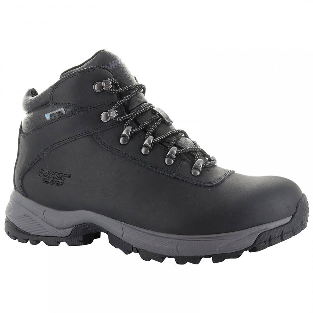 5d2259d6e3c Hi-Tec Mens Eurotrek Lite Boot Black