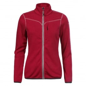 Ladies Elea Fleece Cranberry