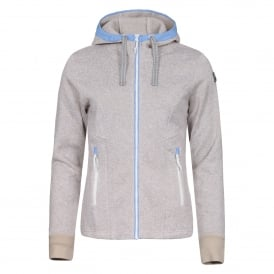Ladies Lilla Fleece Natural White