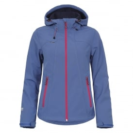 Ladies Sisko Softshell Jacket Aqua