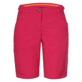 Ladies Suza Long Shorts Hot Pink