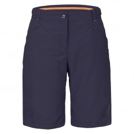 Ladies Suza Long Shorts Navy