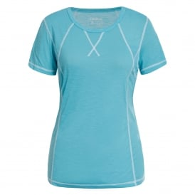 Ladies Suzane Base Top Light Blue