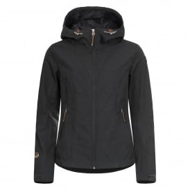 Ladies Terra Softshell Jacket Charcoal