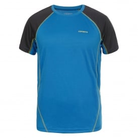 Mens Gael Base Top Turquoise