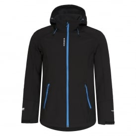 Mens Sanders Softshell Hoody Black