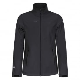Mens Silver Softshell Jacket Anthracite/Blk