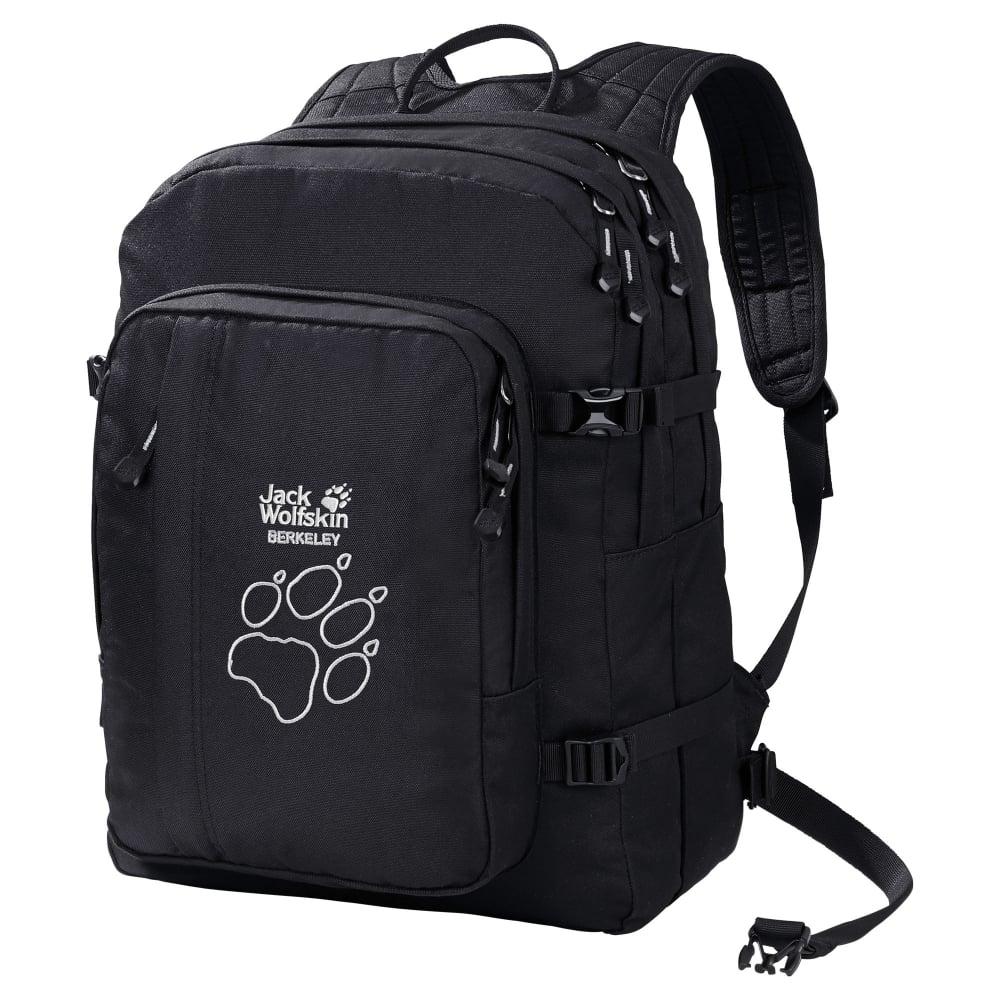 jack wolfskin berkeley 30 litre rucksack black. Black Bedroom Furniture Sets. Home Design Ideas