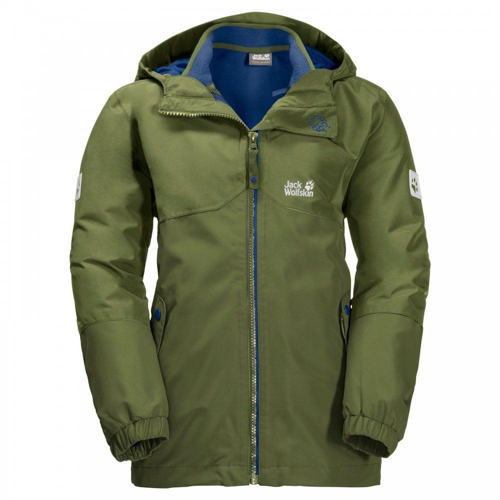 8858d4d95 Boys Iceland 3in1 Jacket Cypress Green