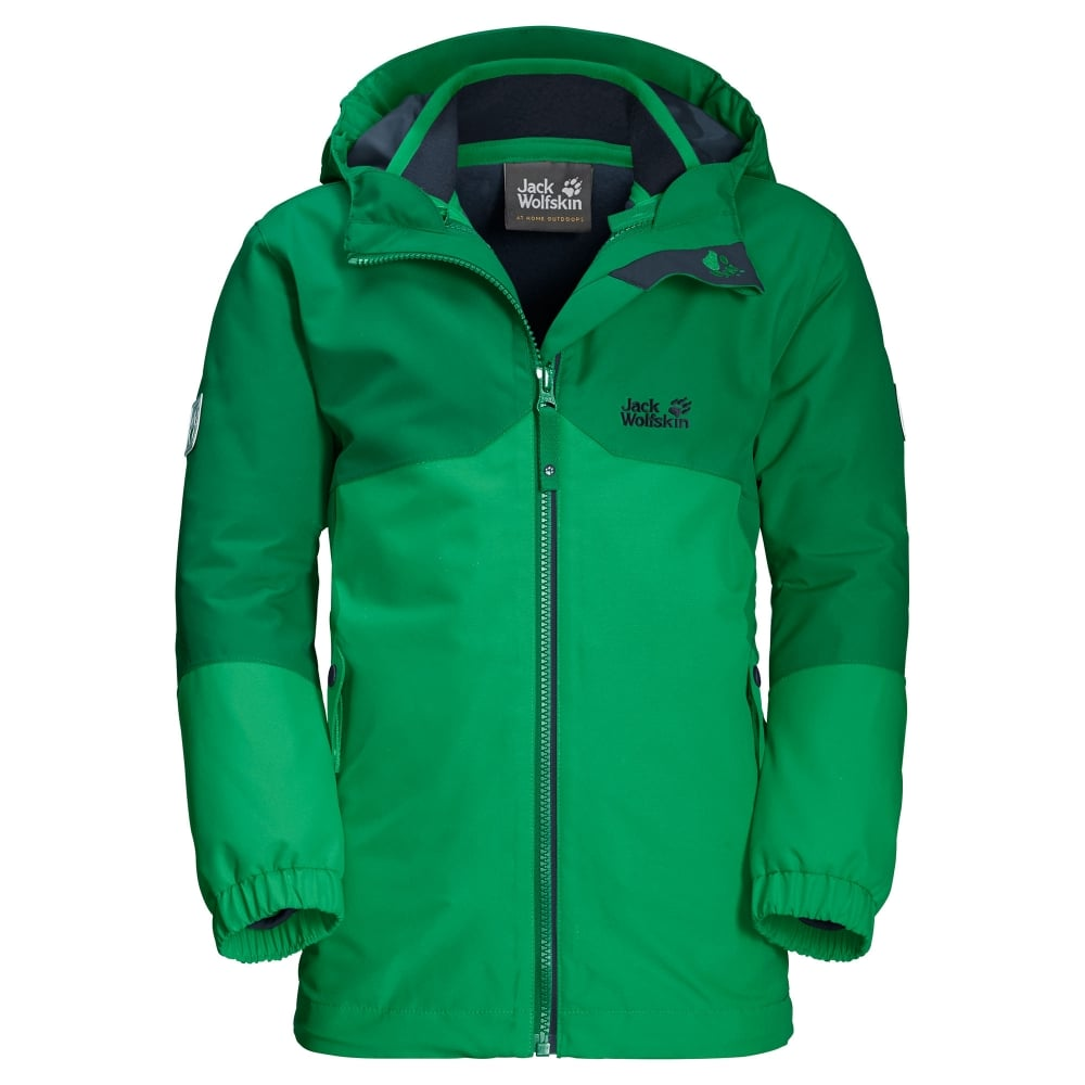 run shoes official site sale uk Boys Iceland 3in1 Jacket Evergreen