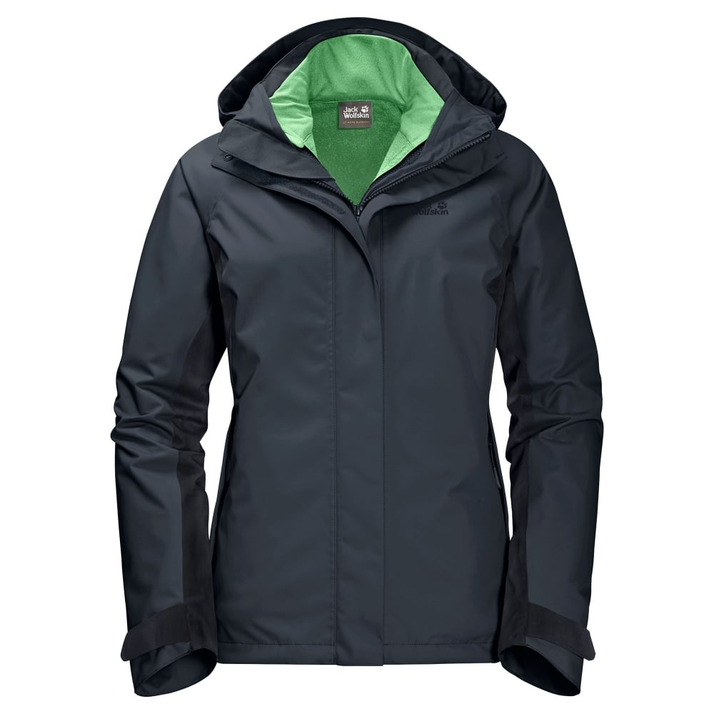 67f0f7e47e Jack Wolfskin Iceland Voyage 3-1 - Ebony - Ladies from Great Outdoors UK