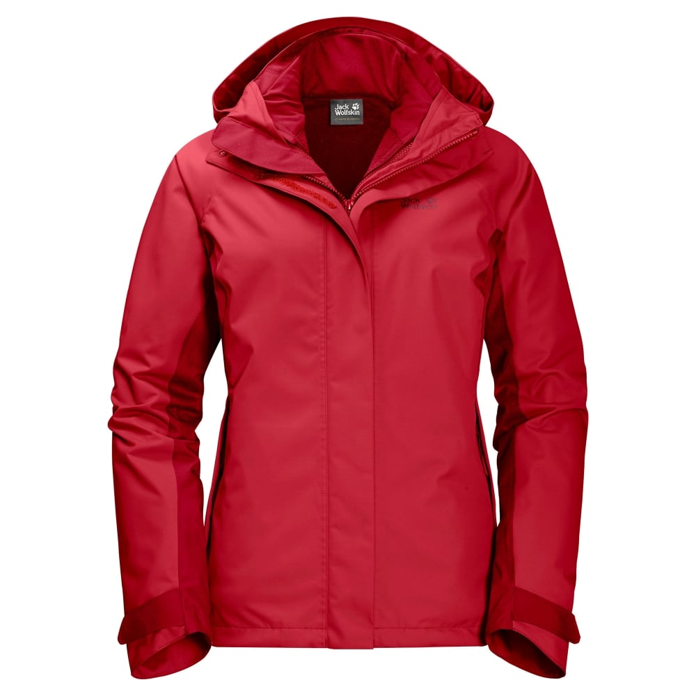 229f423c41 Jack Wolfskin Iceland Voyage 3-1 - T.Red - Ladies from Great Outdoors UK