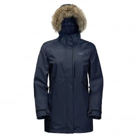 Ladies Arctic Ocean Jacket Night Blue