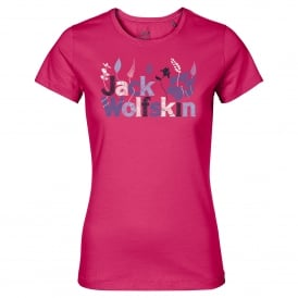 Ladies Brand T-Shirt Tropic Pink