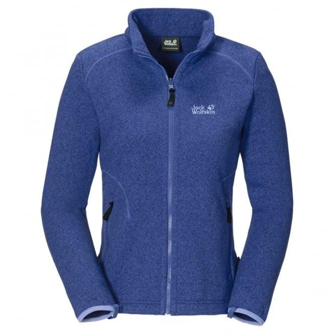 edullinen hinta Outlet myymälä tukkukauppa Jack Wolfskin Ladies Caribou Asylum Fleece Jacket Blueberry