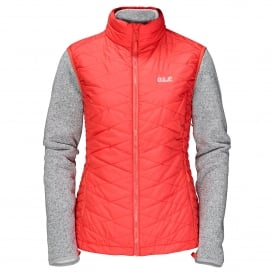Ladies Caribou Glen Jacket Hot Coral