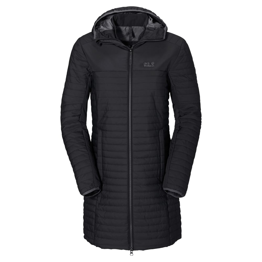Jack Wolfskin Ladies Clarenville Insulated Coat Black - Ladies from ... 6020e171671c