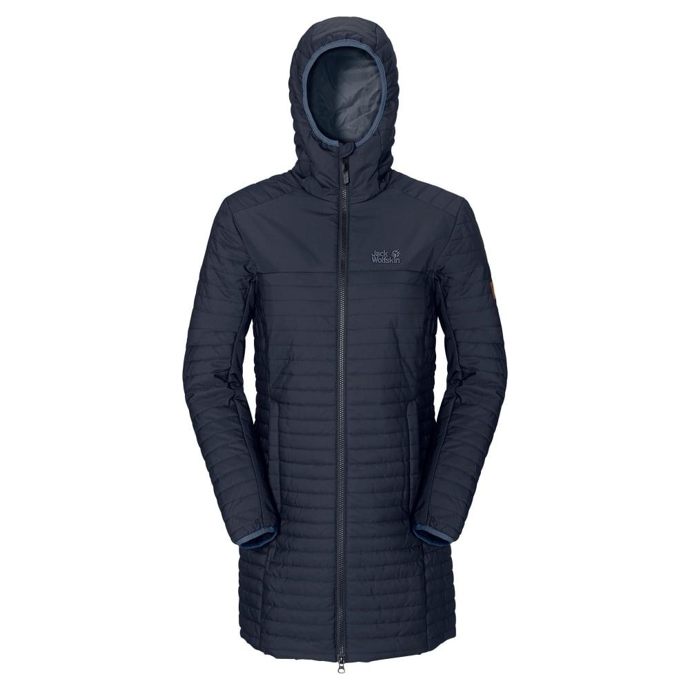 efa673eb6 Ladies Clarenville Insulated Coat Night Blue