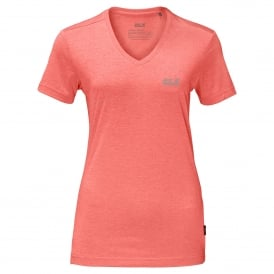 Ladies Crosstrail T-Shirt Flamingo