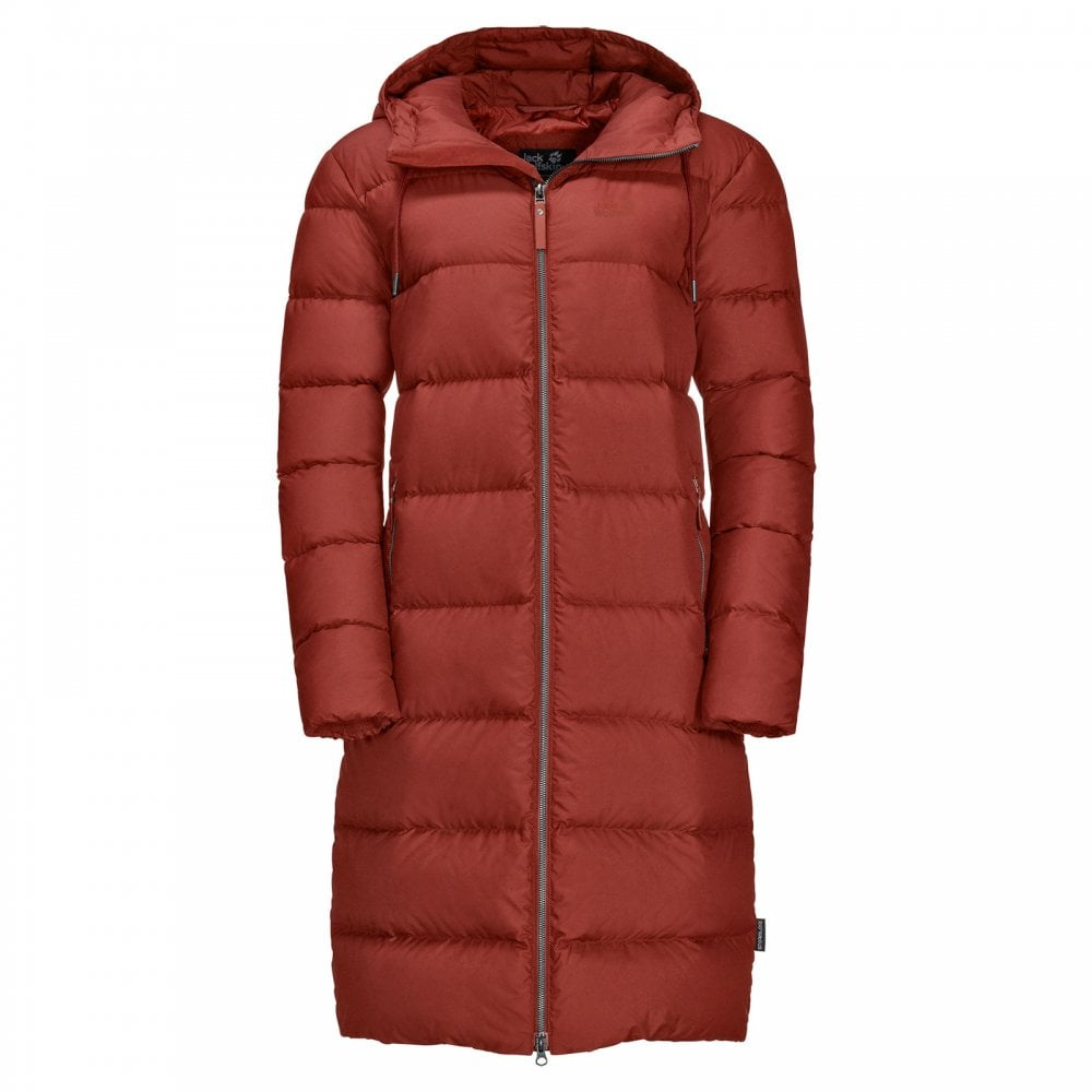 2e889ffe3bb Jack Wolfskin Ladies Crystal Palace Coat Mexican Pepper - Ladies ...