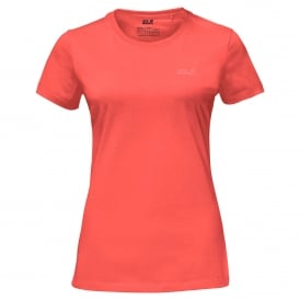 Ladies Essential T-Shirt Hot Coral