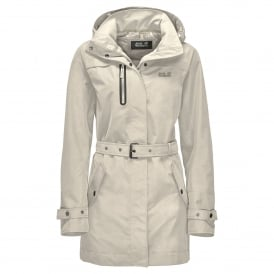Ladies Kimberley Coat White Sand
