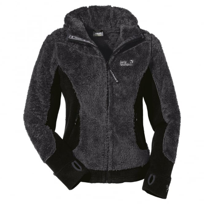 finest selection 07b39 01360 Jack Wolfskin Ladies Kodiak Fleece Jacket Dark Steel