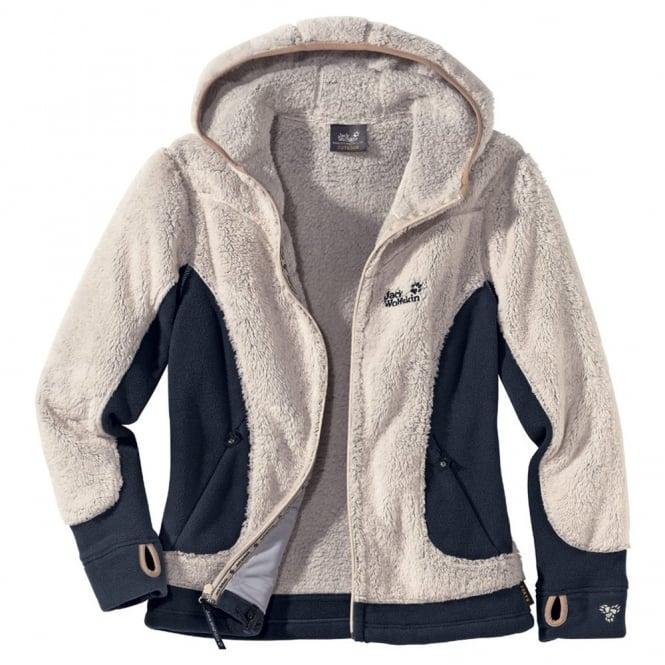 Jack Wolfskin Ladies Kodiak Fleece Jacket Lamb - Free UK Delivery