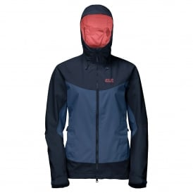 Ladies North Ridge Jacket Ocean Wave
