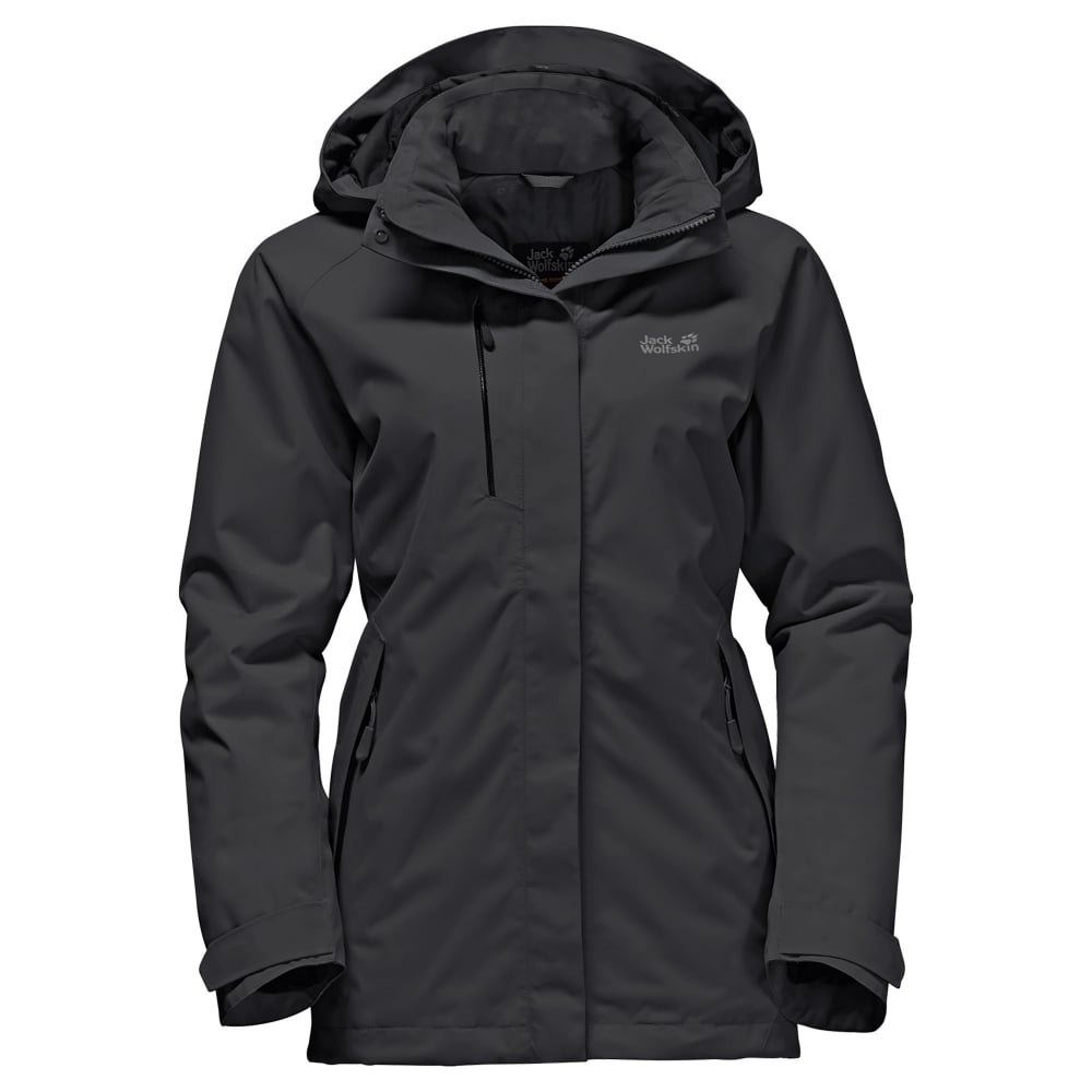 Jack Wolfskin Ladies Northern Edge Jacket Black