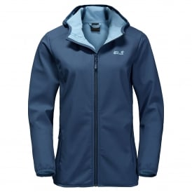 Ladies Northern Point Softshell Dark Sky