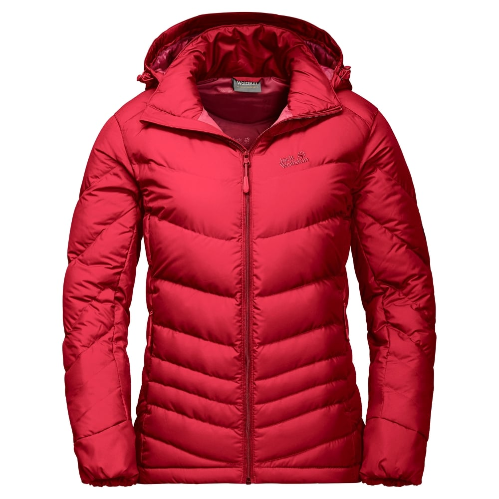 jack wolfskin ladies selenium down jacket