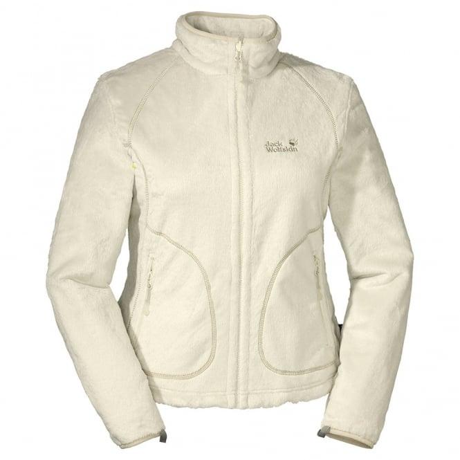 Jack Wolfskin White Sand Soft Asylum Fleece Jacket - Free UK Delivery