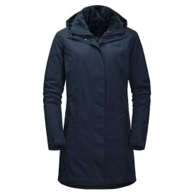 Madison Ave W Coat - M.Blue