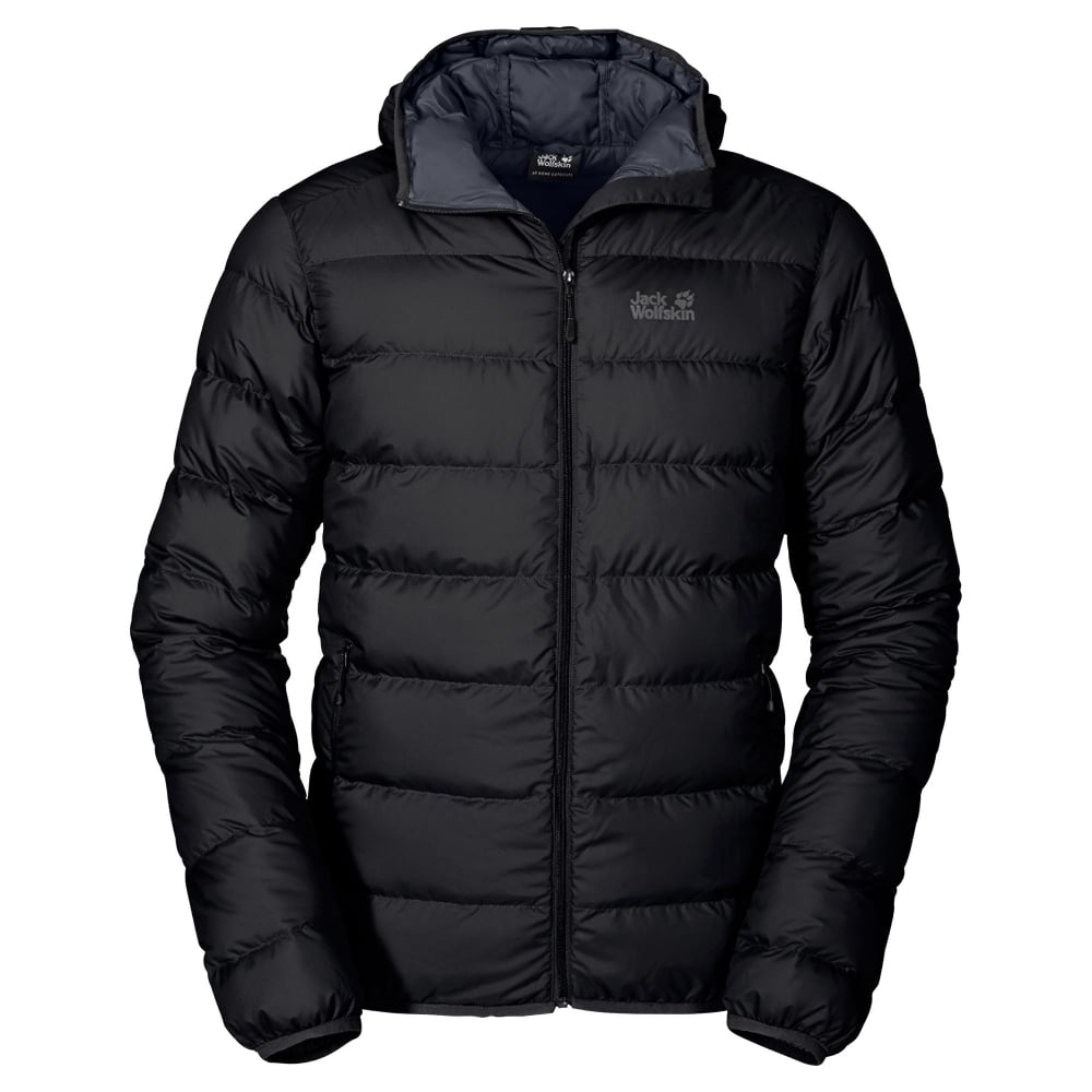 e4343708289 Jack Wolfskin Mens Black Helium Down Jacket - Free UK Delivery