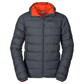 Mens Helium Down Jacket Ebony