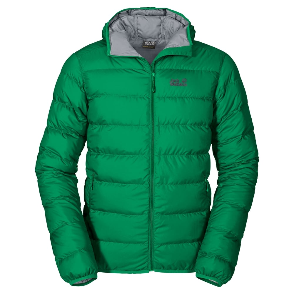 Jack Wolfskin Mens Helium Down Jacket Forest Green - Mens from Great ... 5d78b6f4624a