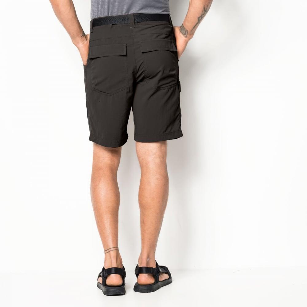 Jack Wolfskin Mens Hoggar Shorts Pinewood
