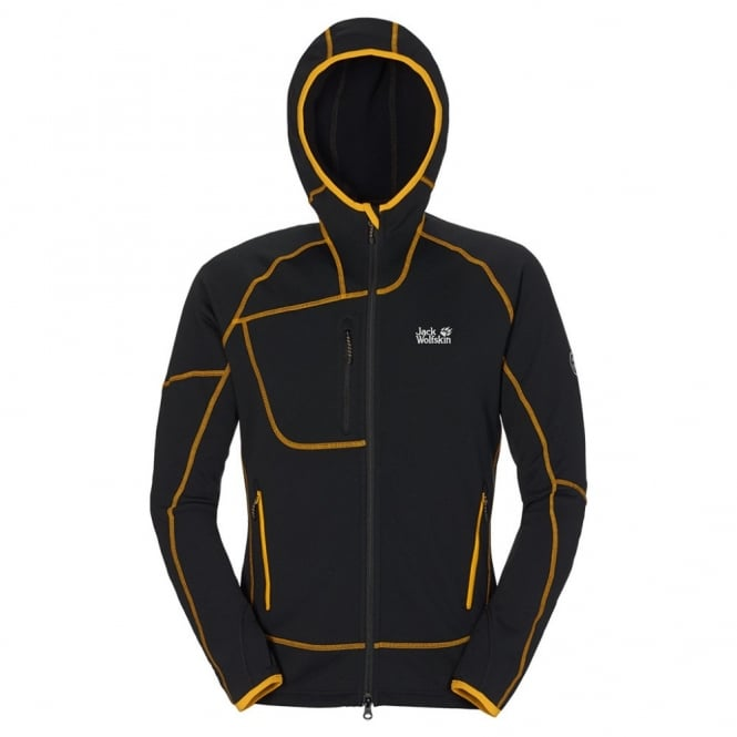 Jack Ionic Dynamic Fleece Wolfskin Jacket Black Mens yb7vYf6g