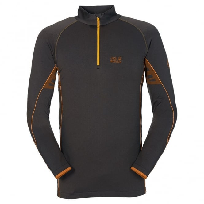 Jack Wolfskin Mens Cross Trail Long Sleeve Performance Lang Sleeve Shirt