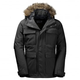 Mens Point Barrow Jacket Black