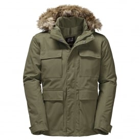 Mens Point Barrow Jacket Burnt Olive