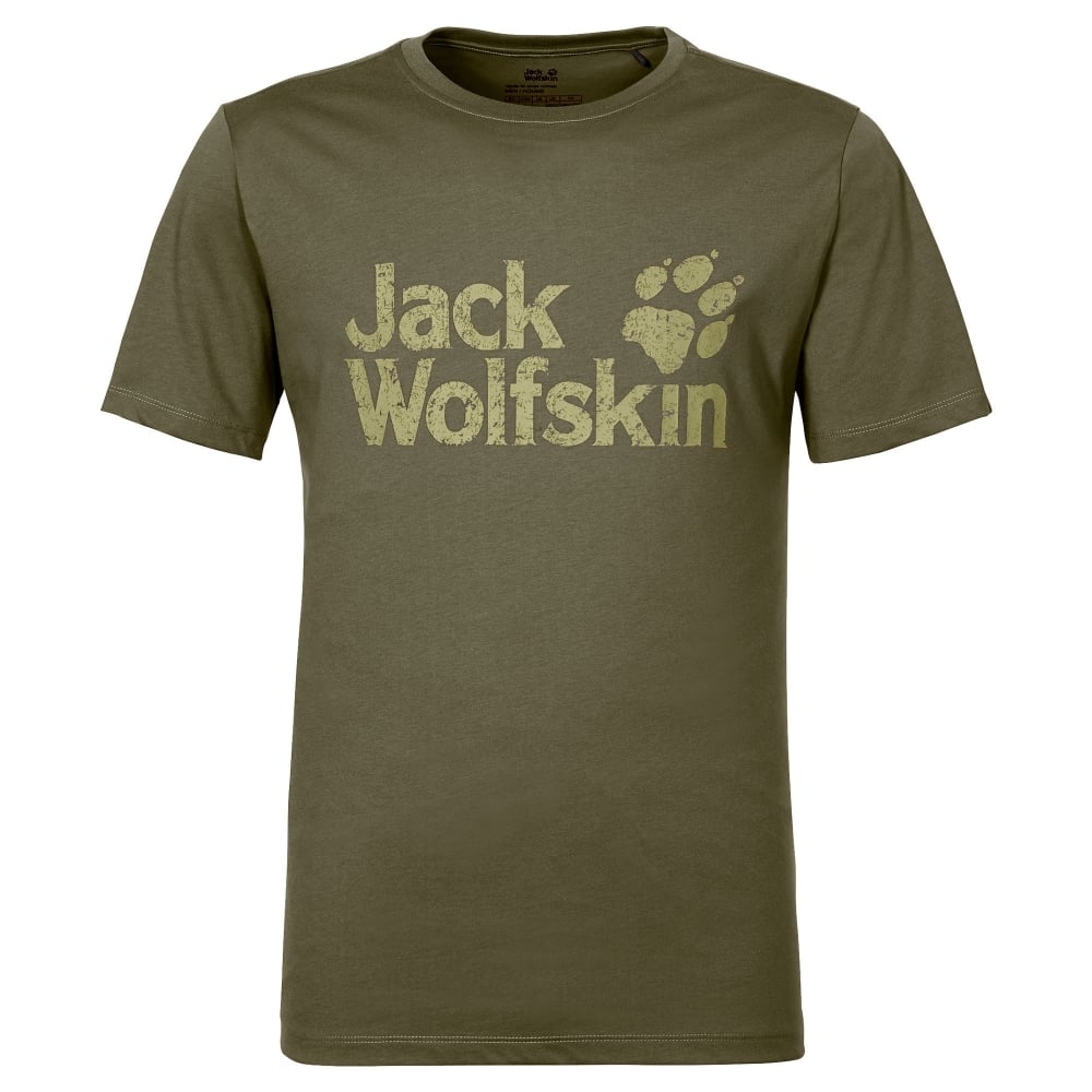 9e2eef11b0b Jack Wolfskin Mens Pride Function 65 T-Shirt Burnt Olive - Mens from ...