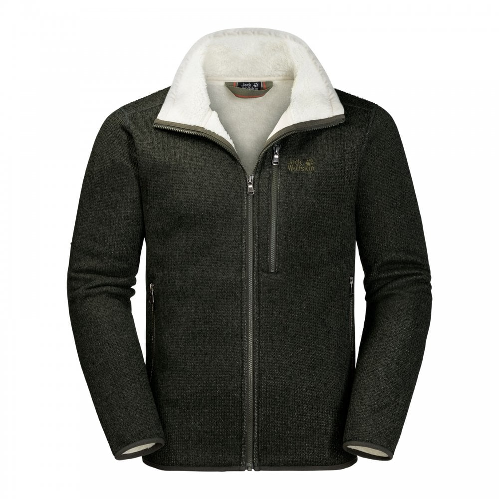 cute cheap latest discount classic fit Mens Robson Fjord Fleece Jacket Pinewood