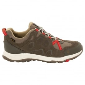 Mens Rocksand Texapore Shoe Volcano Red