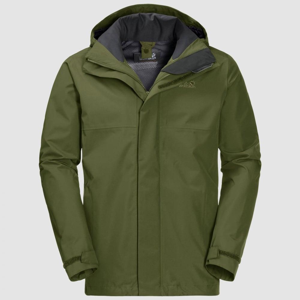 9f2dfd6172e Jack Wolfskin Mens Seven Peaks Jacket Cypress Green - Mens from ...