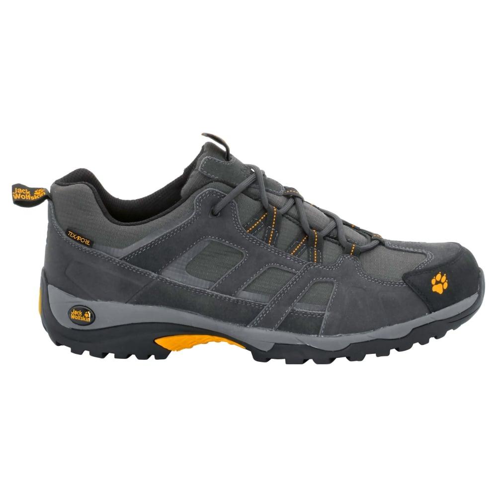 57d8c35c746 Jack Wolfskin Mens Vojo Hike Texapore Shoe Burly Yellow - Footwear ...